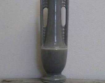 Antique Art Deco Shawnee Skyscraper Vase 1178