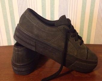 90s platform sneakers italy Women's US 7