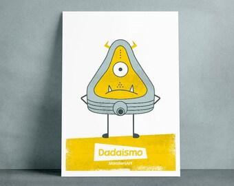 Poster MonstersArt Dada