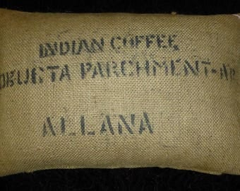 "Coffee bag cover, cushion ""Monica"", 60 x 40 cm"