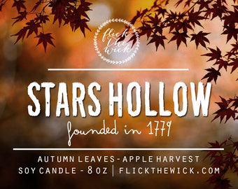 Stars Hollow - 8oz Soy Candle