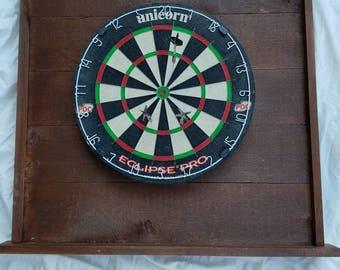 Custom made dart board back board,