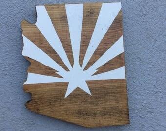Arizona Flag Sign