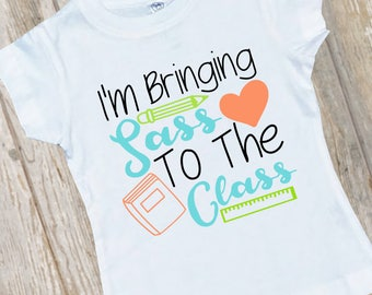 Back To School Shirt, First Day Of School Shirt, Back To School Girls Shirt, Kindergarten Shirt, Preschool Shirt, First Day Of School Top