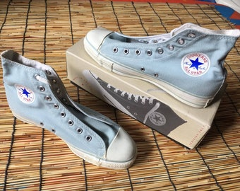 Vintage Converse All Star 1990's USA Size 9.5 Deadstock