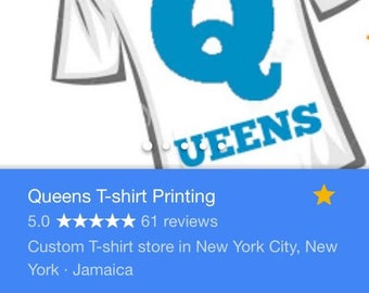 Custom tshirt printing, Queens t-shirt printing, names and numbers t-shirts, birthday gift, custom designs, custom prints, name and number