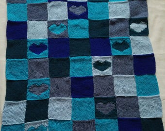 Baby Boy & Girls Hand knitted Blankets