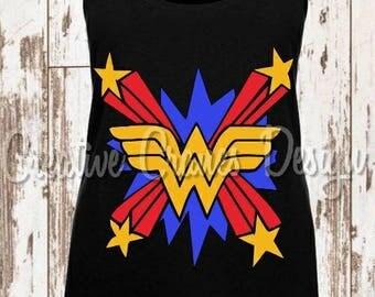 Wonder Woman Inspired Shirt