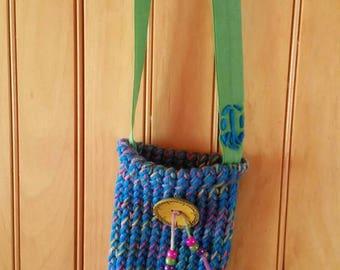 Water Bottle Bag- Peace