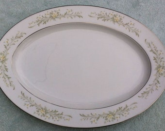 "Grace Rhapsody (Japan) 14"" oval platter"