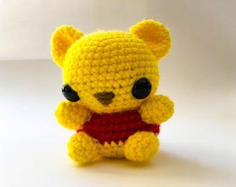Winnie the Pooh Crochet Amigurumi