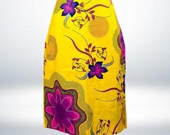 Jata Pink/yellow Skirt
