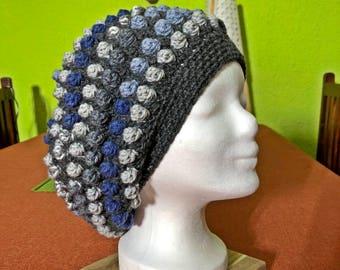 Crochet hat, crochet cap, crochet hat