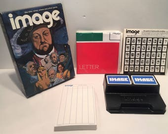 1972 Image Bookshelf Game by 3M Complete Great Condition FREE SHIPPING