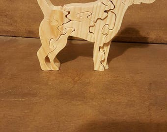 Standing Dog Puzzle