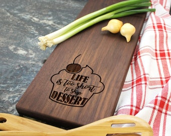 Personalized Cheese Board - Engraved Cheese Board, Custom Cheese Board, Housewarming Gift, Wedding Gift, Engagement Gift, Anniversary (011)