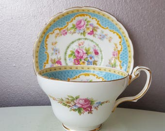 Windsor 1850 Foley Bone China cup and saucer