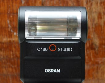 Vintage Osram C180 Studio flash