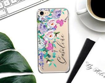 Custom iPhone 7 Plus Case Personalized iPhone 7 Case, Custom Name iPhone 6 Case, 6 Plus, 5s, 5, SE iPhone Case, Personalised Gift.