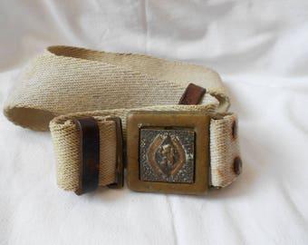 Military belt vintage