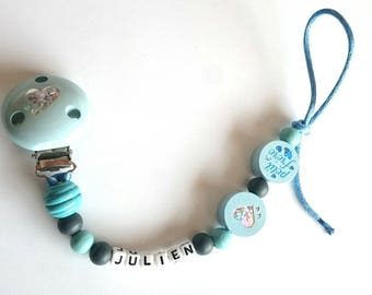 Personalized little brother pacifier pacifier