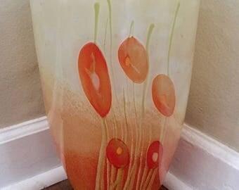 Glass Nuvo Lithuanian Art Glass Vase