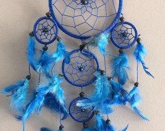 Hot pink or blue dreamcatcher dream catcher dream catcher 5 circles