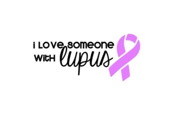 "Love Someone with Lupus | 5"" Vinyl Decal | Spoonie | Lupus Awareness"