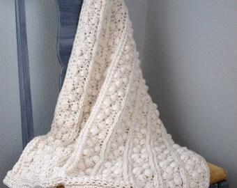 Crochet Pattern Baby Blanket Crib Blanket Afghan Throw City Blanket