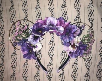 Violet Lemonade Inspired Flower and Garden Festival Minnie Ears
