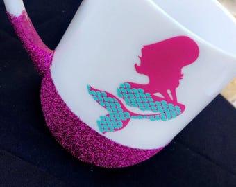 Mermaid glittery Mug