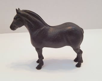 Vintage Cast Iron Horse Bank
