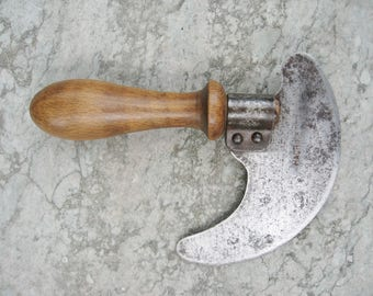 A Good Old French Single Handle Hachinette Herb Chopper