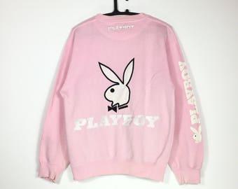 Free Shipping Vintage 90s PLAYBOY sweatshirt
