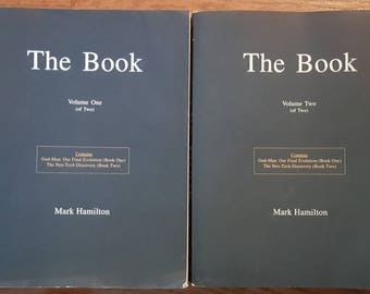 Neo-Tech Discovery Books By Mark Hamilton The Book Volume One And Two God Man Our Final Evolution