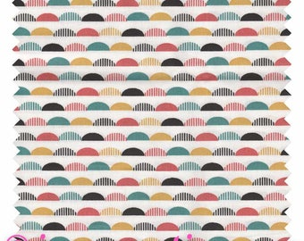 """Vintage Sohem"" 100% cotton sold by the yard fabric"