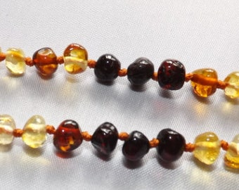 Amber Necklaces made for Children