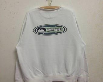 Vintage 90's Quicksilver Sweatshirts Size L