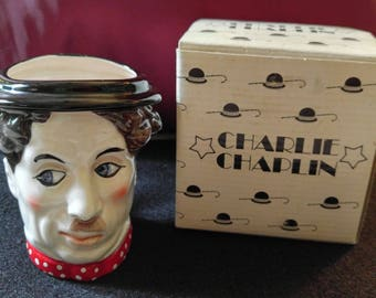 Charlie Chaplin Ceramic Mug With Box