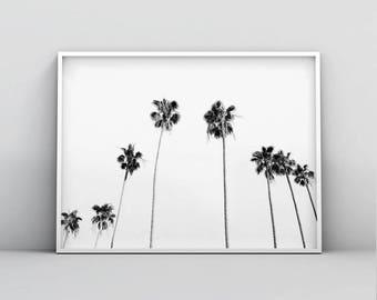 Tropical Print, Tropical Decor, Tropical Printable Art, Tropical Digital Art, Tropical Plant Print, Palm Tree Print, Palm Leaf, Palm Print