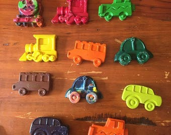 Custom Car Crayons