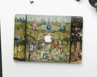 "Hieronymus Bosch ""The Garden of Earthly Delights"". Macbook Pro 15 skin, Macbook Pro 13 skin, Macbook 12 skin. Macbook Air skin."