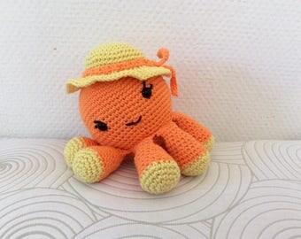Miss Octopus crochet cotton
