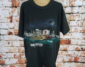 New Orleans Vintage T Shirt size XL/XXL  #245