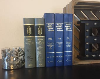 Vintage Law and Legal Books - New, Used, Vintage, Various Colors and Sizes