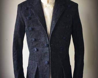 Napoleon jacket 15oz denim
