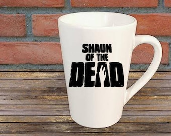Shaun of the Dead Zombie Mug Coffee Cup Halloween Gift Home Decor Kitchen Bar Gift for Her Him Any Color Personalized Custom