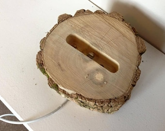 Handmade Natural Wood iPhone Charger