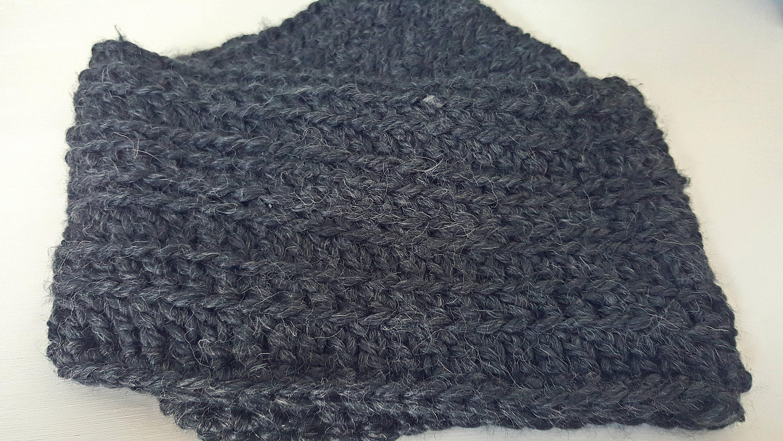 Crochet Scarf pattern, Infinity scarf pattern from