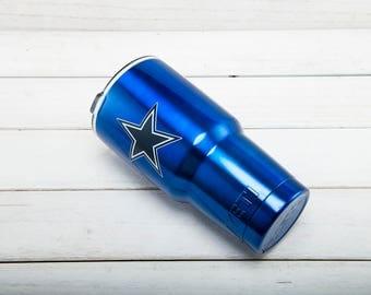 Dallas Cowboys YETI Cup  Dallas Cowboys Cup Dallas Cowboys Birthday Dallas Cowboys Gift Dallas Cowboys Party Dallas Cowboys YETI Cup